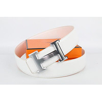 Hermes belt men's and women's casual casual style H letter fashion belt520