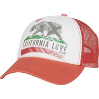 Billabong - Pitstop Trucker Hat   Spiced Coral