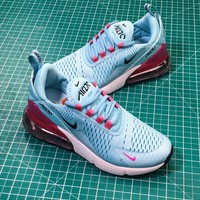 Nike Air Max 270 Women's Green Sport Running Shoes - Best Online Sale