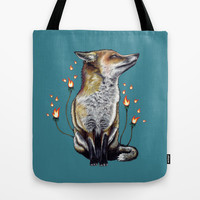 There is a Light Tote Bag by Mat Miller