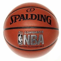 """Spalding NBA All Conference Basketball, 29.5"""" Size FULL SIZE"""