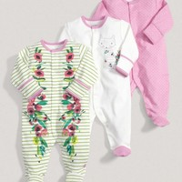 Girls Essentials Three Pack Of Cats Tails One Pieces