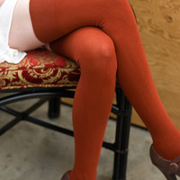 Socks by Sock Dreams » Solid Thigh High Stockings