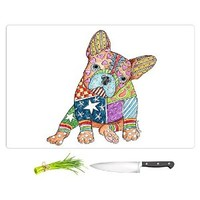 Cutting Boards from DiaNoche by Marley Ungaro - French Bulldog Unique Kitchen Slicing Dicing Bar Artistic Decorative