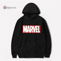 Supzxu Hot 2018 Autumn And Winter Brand Sweatshirts Men High Quality Long sleeves MARVEL letter printing fashion mens hoodies
