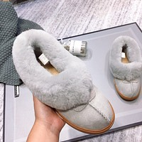 UGG fashion hot seller of women's casual uggs, sheep's fur all-in-one low-top ankle boots Shoes #7