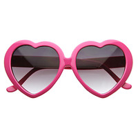 Celebrity Novelty Heart Shape Sunglasses 8182