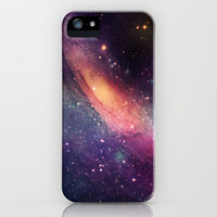 Galaxy colorful iPhone Case by Msimioni