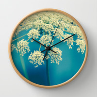 Lace Wall Clock by Olivia Joy StClaire