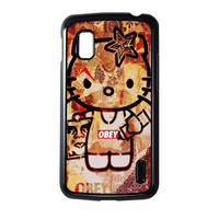 Obey Hello Kitty Nexus 4 Case