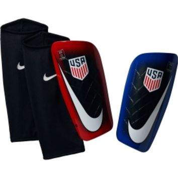 Nike Adult Mercurial Lite U.S.A. Soccer Shin Guards