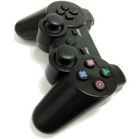 AGPtek Wireless Bluetooth Game Controller (Black) for Sony PlayStation PS3