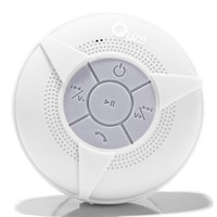 Wireless Waterproof Bluetooth Shower Speaker. Superior Sounds And Long Lasting Battery, Hands-free Speakerphone With Built-in Mic, Compatible With All Bluetooth Devices. MICRO USB. Use For Shower, In Car, Pool, Camping, Boating, With Suction Cup. + BONUS.