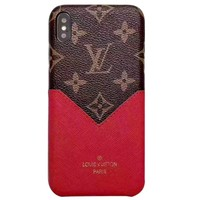 LV classic old flower color matching IPHONE XS/XR mobile phone case