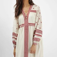 Grecian Smock Dress - Embroidery - We Love