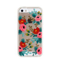 Clear Rosa iPhone 5/5s Clear Case by RIFLE PAPER Co. | Imported