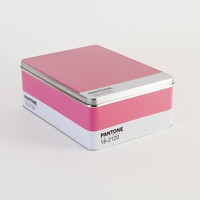 Pantone Metal Storage Box, Honeysuckle | Brit + Co. Shop - Creative products from makers you'll love.