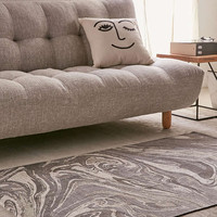 Golin Marble Printed Rug - Urban Outfitters