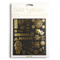 GAMA GO GOLD TEMPORARY TATTOOS