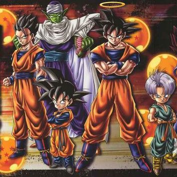 Dragon Ball Z Anime Cartoon 2009 Poster 22x34