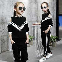 Kids Tracksuit Toddler Girl Activewear Sets