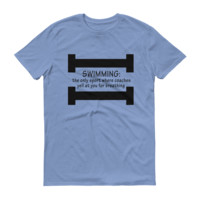 Swimming & Breathing Short sleeve t-shirt