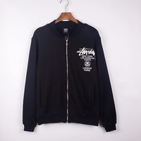 On Sale Hot Deal Sports Zippers Hoodies Jacket Baseball [9231074503]