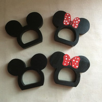 Girl and Boy Mouse Ear Napkin Rings