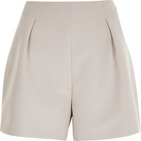 River Island Womens Pink nude tailored smart shorts