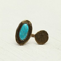 Orbit Turquoise Ring at Free People Clothing Boutique