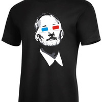 Bill Murray and 3D Glasses T-shirt