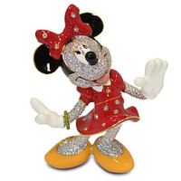 Disney Minnie Mouse Jeweled Figurine by Arribas New Limited Edition 2000