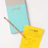 Letterpress Notepad by Anthropologie