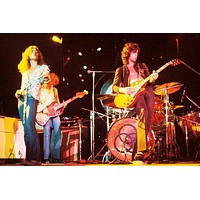 """Led Zeppelin poster Metal Sign Wall Art 8in x 12in 12""""x16"""""""