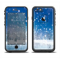 The Frozen Snowfall Pond Apple iPhone 6/6s Plus LifeProof Fre Case Skin Set