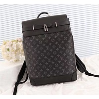 LV Louis Vuitton MEN'S MONOGRAM Eclipse CANVAS BACKPACK BAG