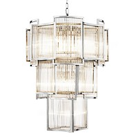 Layered Glass Chandelier | Eichhlotz Jet Set