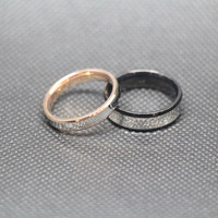 2pcs-Free Engraving,Titanium Rings,Lovers rings, promise ring,couple Rings,ring for couples