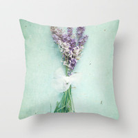 lavender Throw Pillow by Sylvia Cook Photography | Society6