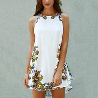 Sleeveless Party Cocktail Dress