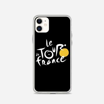 Le Tour De France Bicycle Bike Cycling iPhone 11 Case