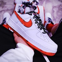 Nike Air Force 1 Low fashion hot selling monochrome retro low-top casual shoes