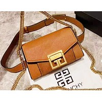 Givenchy new women's casual wild small square bag shoulder chain bag 6#