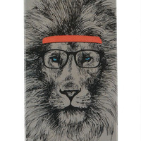 Hipster Lion iPhone 5 Case - Multi