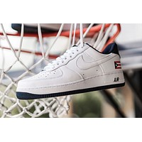 "Nike Air Force 1 LoW ""Puerto Rico"" simple low-top casual sports sneakers shoes"