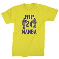 Black Mamba Rest In Peace Mens T-shirt