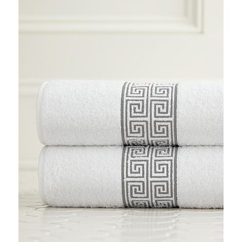 Alexia Embroidered Bath Towels by Legacy Home