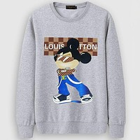 Louis Vuitton LV  Casual Simple Women Men Long Sleeve Shirt Top Tee