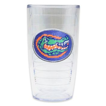 University of Florida Needlepoint Tumbler by Smathers & Branson