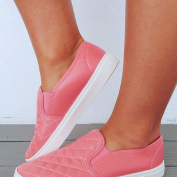 So Fresh Sneakers: Coral